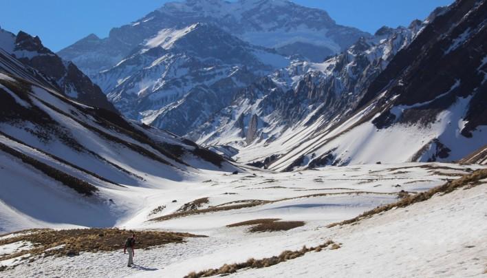 Cordillère des Andes : Puente del Inca et l'Aconcagua