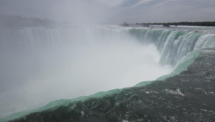 Ontario et chutes du Niagara