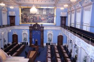 Parlement Québec bleu