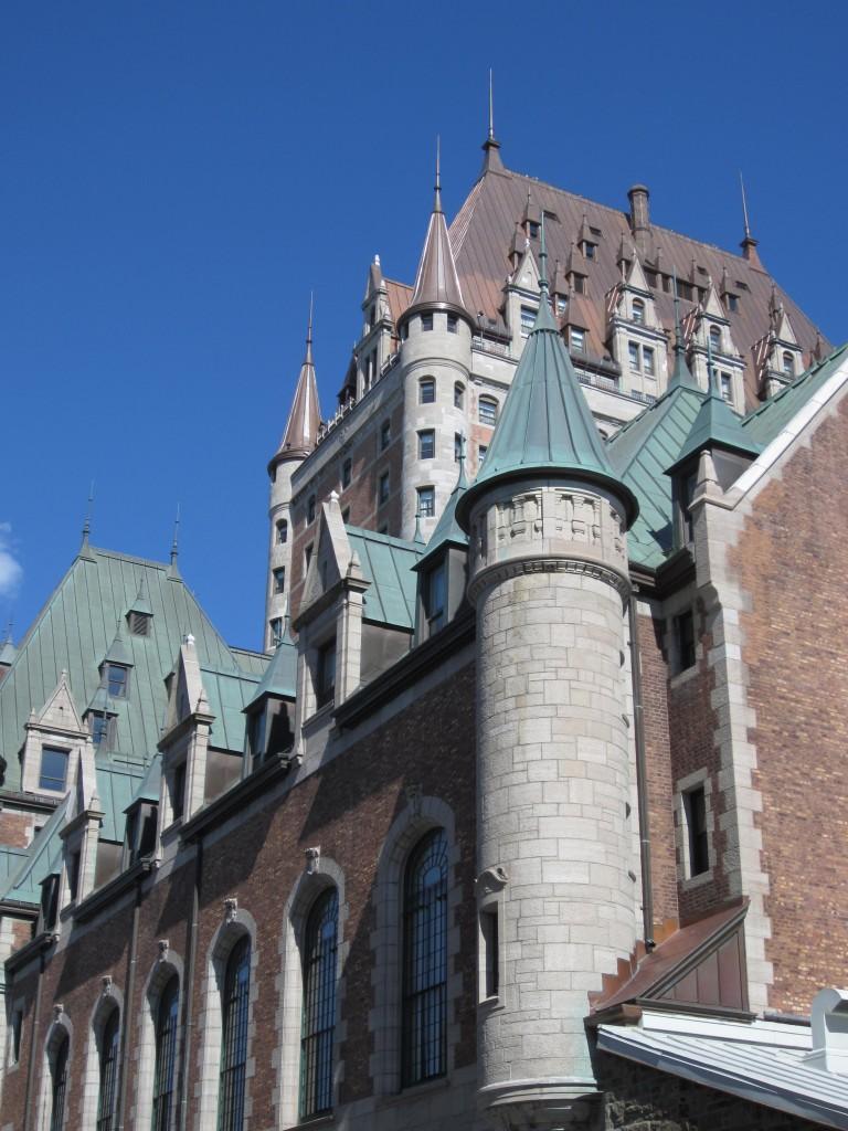 Québec- château de Frontenac