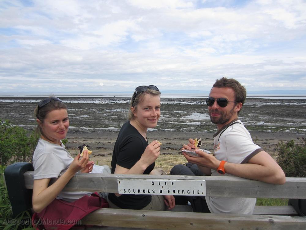 Canada - Isle aux coudres - Tartes au sucre et bleuets