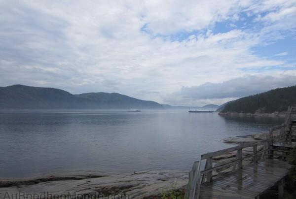 Le Charlevoix, la Côte Nord et le Saguenay