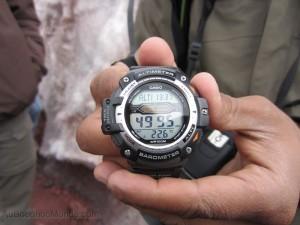Equateur - Altimetre presque 5000m