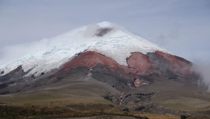 Le Cotopaxi et la vallée des volcans