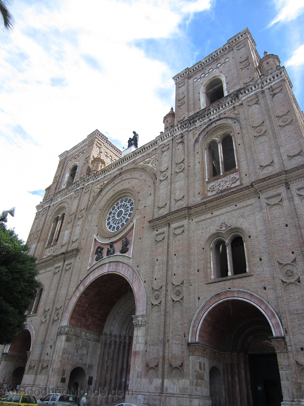 Equateur - Cathedrale Cuenca
