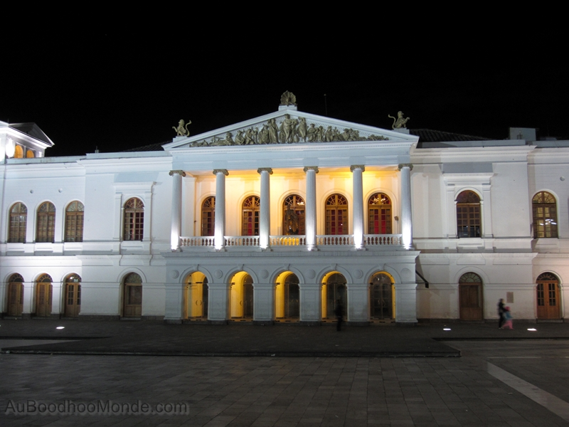 Equateur - Quito - Theatre