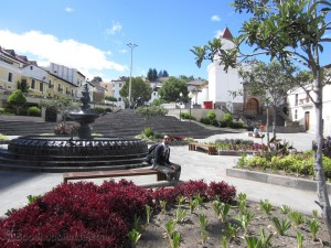 Equateur - Quito - Quartier San Blas