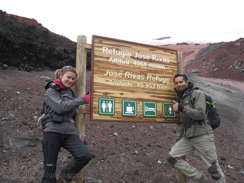 Equateur - Refuge Plus Haut que Mont Blanc