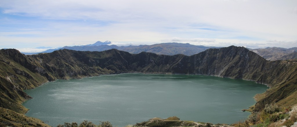Equateur - Cratere du Quilotoa
