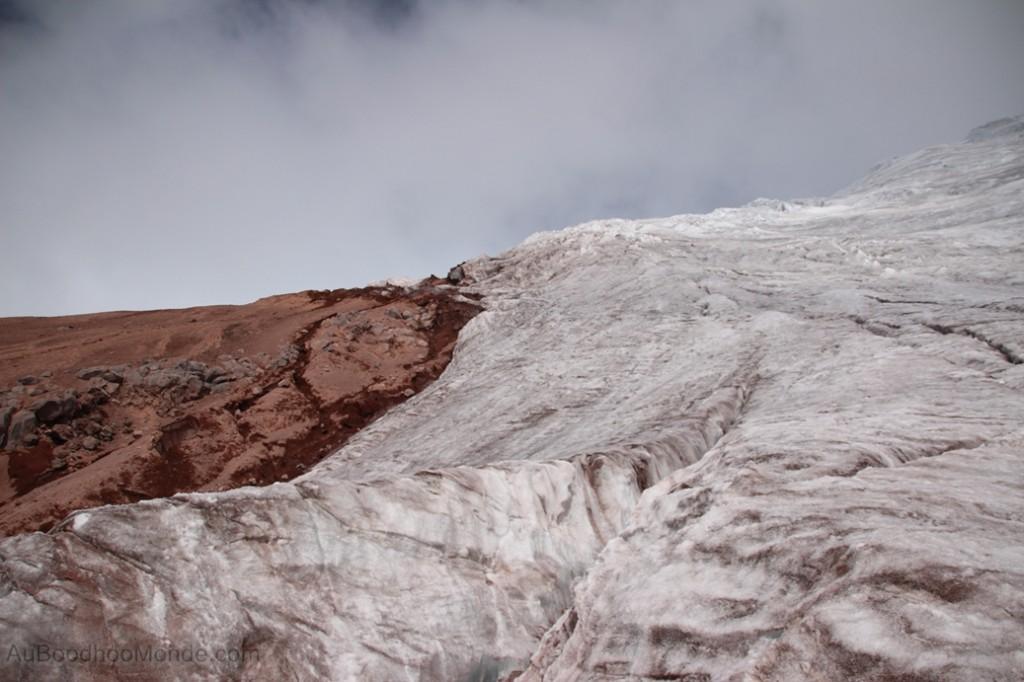 Equateur - Le glacier du Cotopaxi