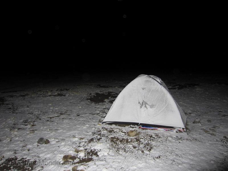 Bolivie - Les boodhoo dans la neige
