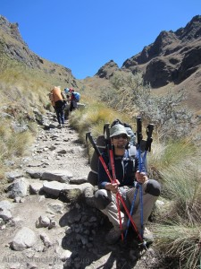 Perou - Inka Trail - Day Two