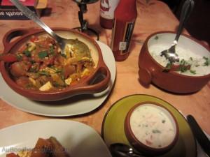 Perou - repas indien