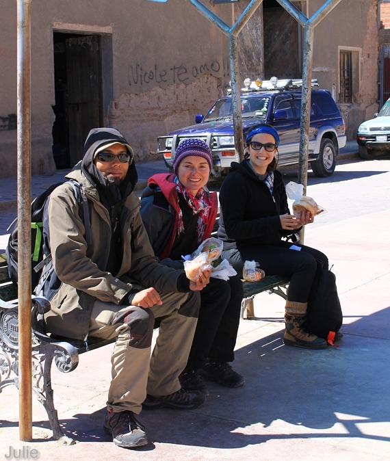 Bolivie - Dejeuner Uyuni
