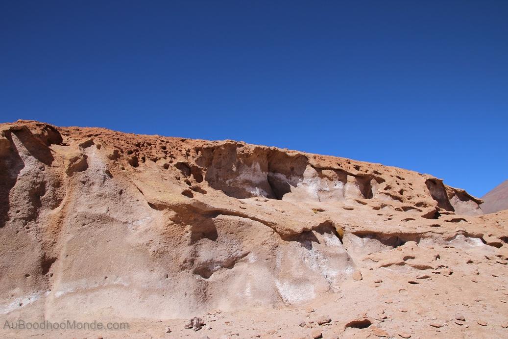 Bolivie - Coulee de lave