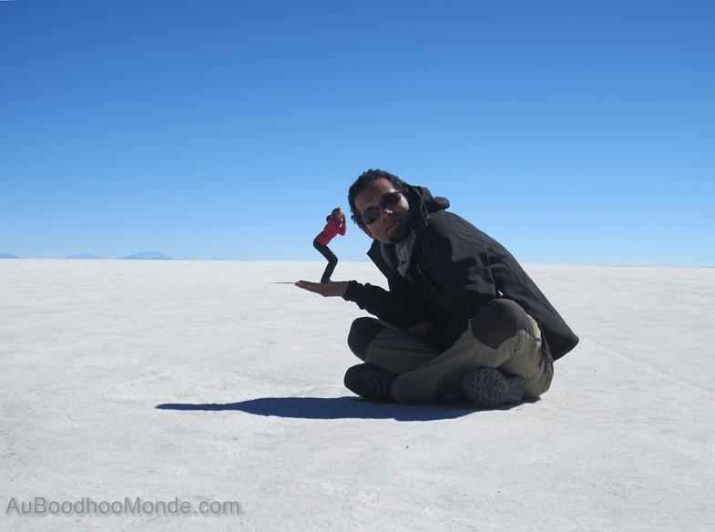 Bolivie - Perspective Salar Uyuni