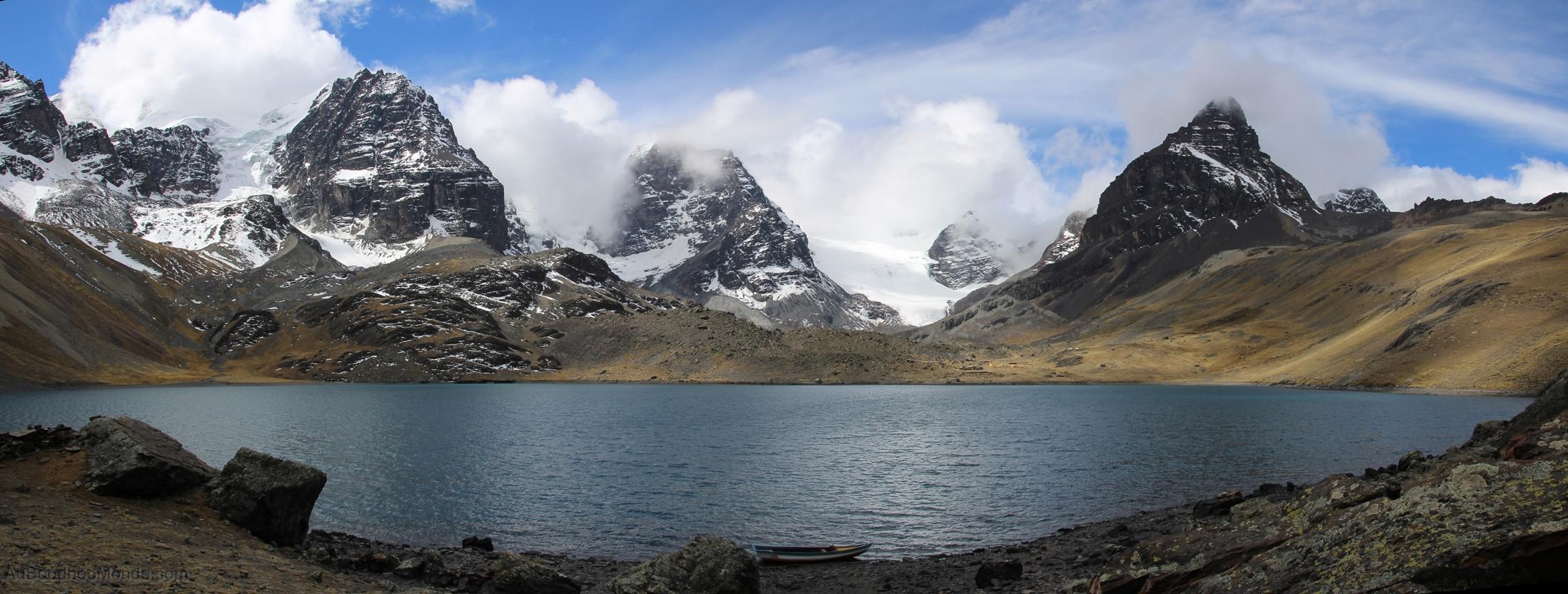 Bolivie - Trek Condoriri Huayna Potosi camping