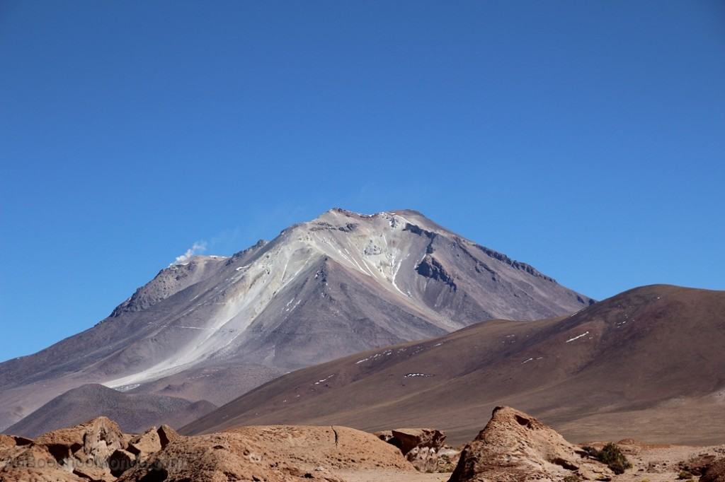 Bolivie - Volcan Ollague