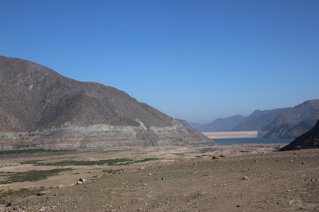 Chili - Barrage de Puclaro Elqui