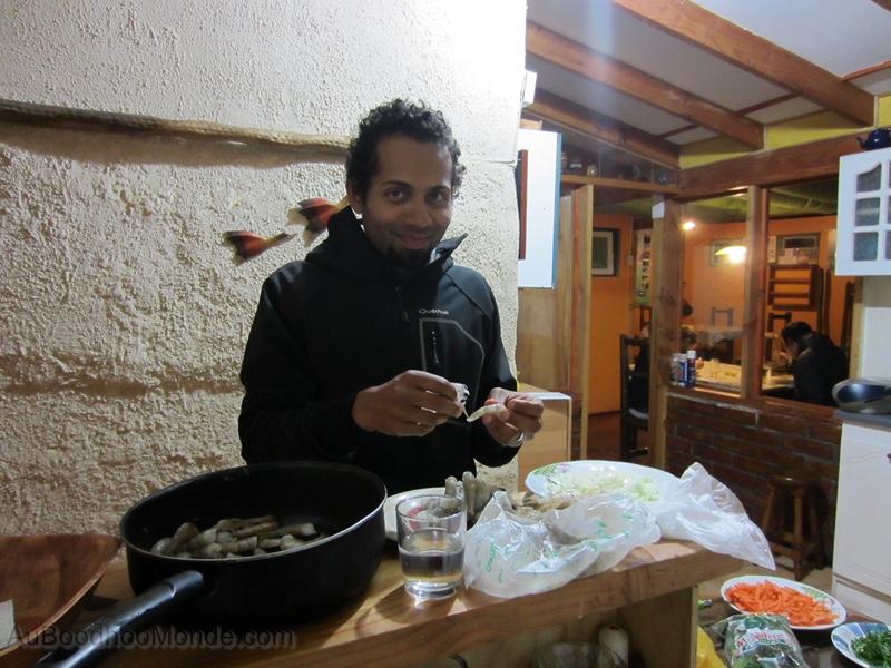 Chili - La Serena cari de crevettes