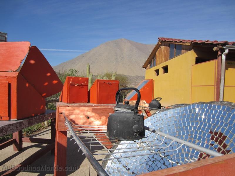 Chili - Restaurant solaire Vilcaseca