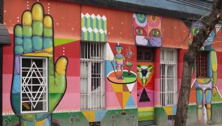 De Valparaiso à Santiago