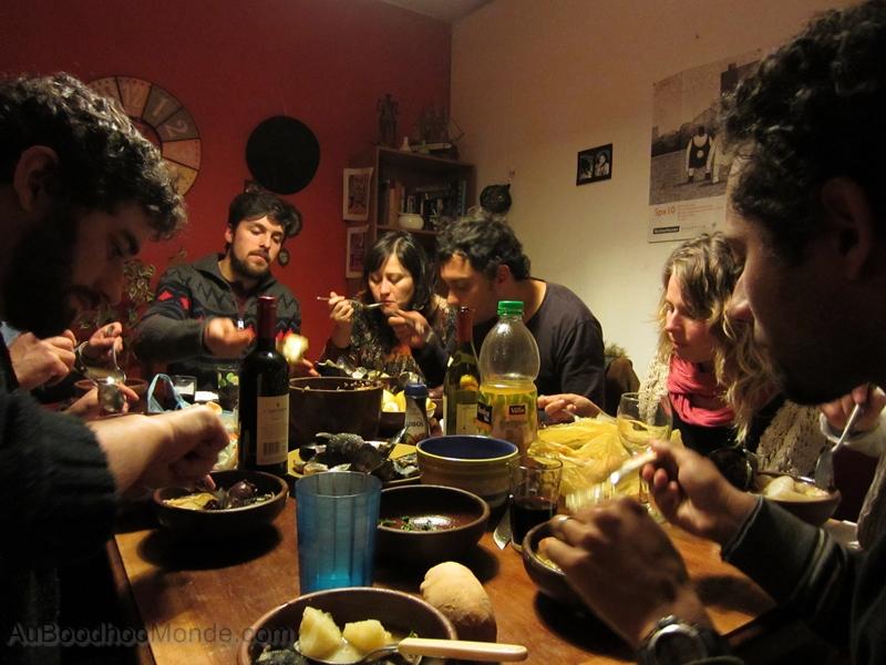 Chili Santiago - cocimiento auberge espagnole