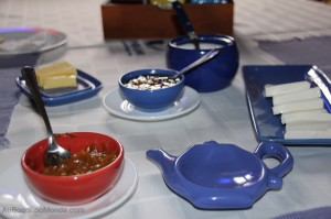 Chili Valaparaiso - El Mirador petit dejeuner