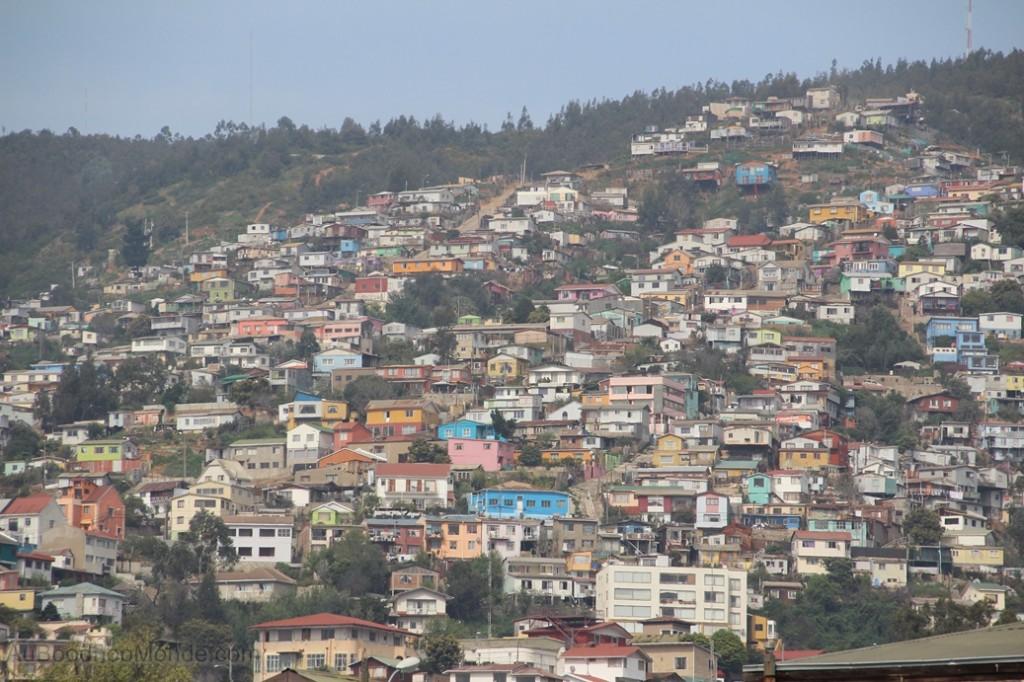 Chili Valaparaiso - collines cerros