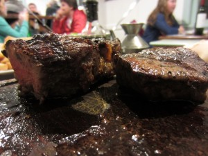 Argentine - Bariloche viande de boeuf bife