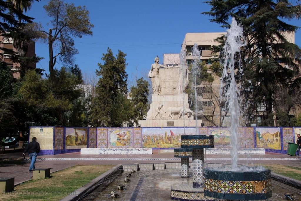 Argentine - Mendoza - Plaza Espana