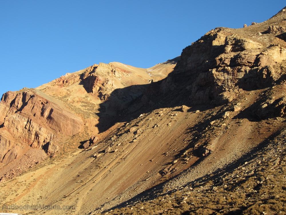 Argentine - Puente del Inca - Montagnes rouges