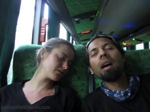 Dormir confortablement en bus - Amerique du Sud
