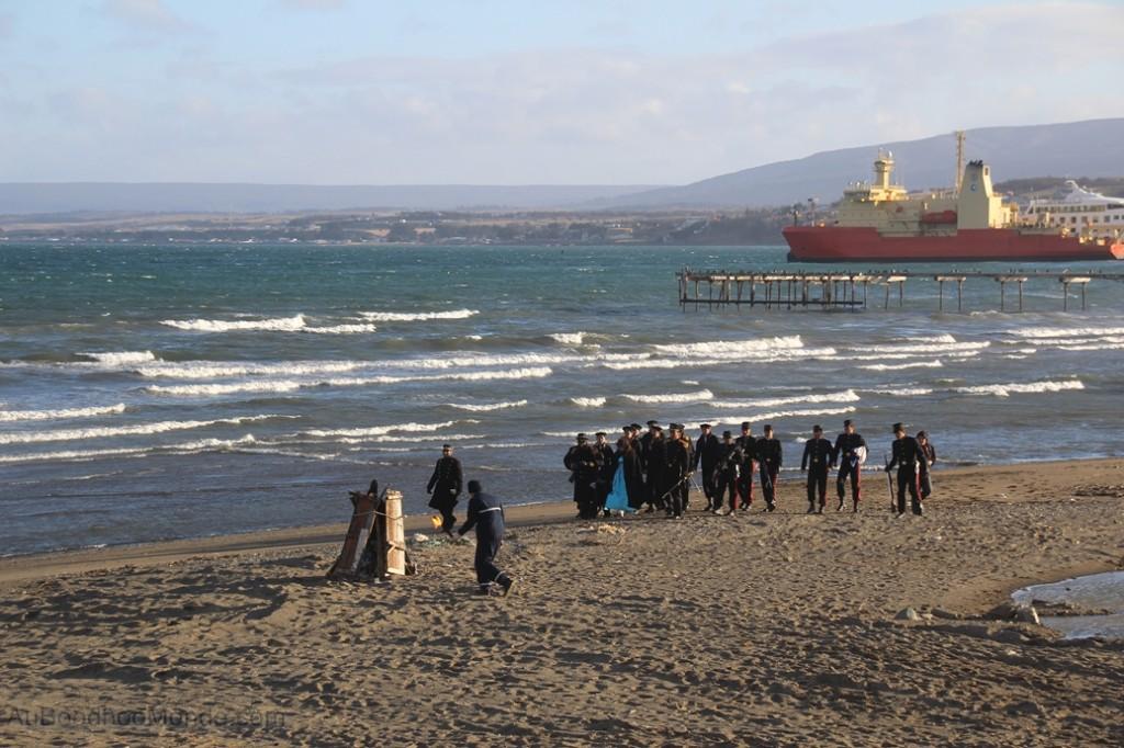 Chili - Punta Arenas Debarquement chilote