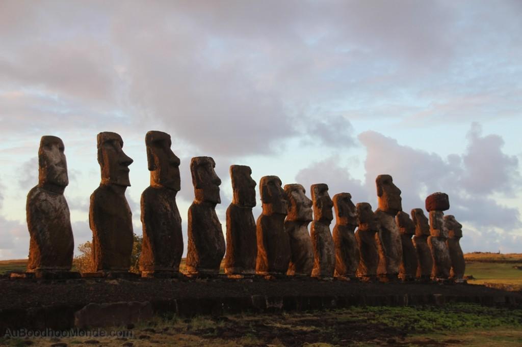 Ile de Paques - Ahu Tongariki