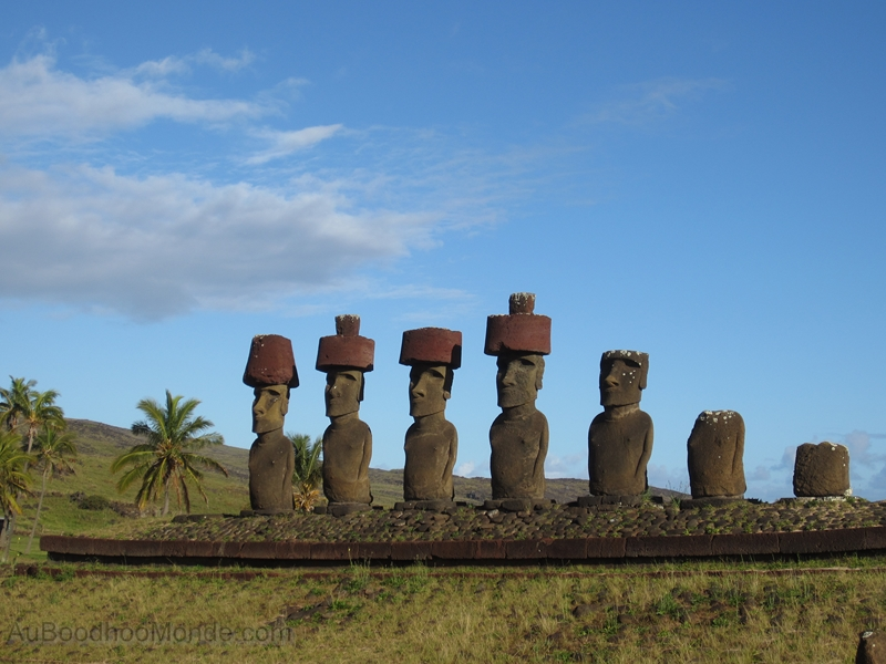 Ile de Paques - Plage Ahu Nau Nau