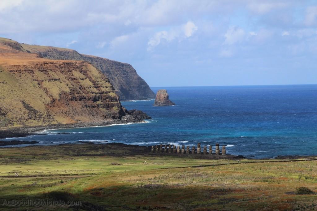 Ile de Paques -  Vue de Tongariki