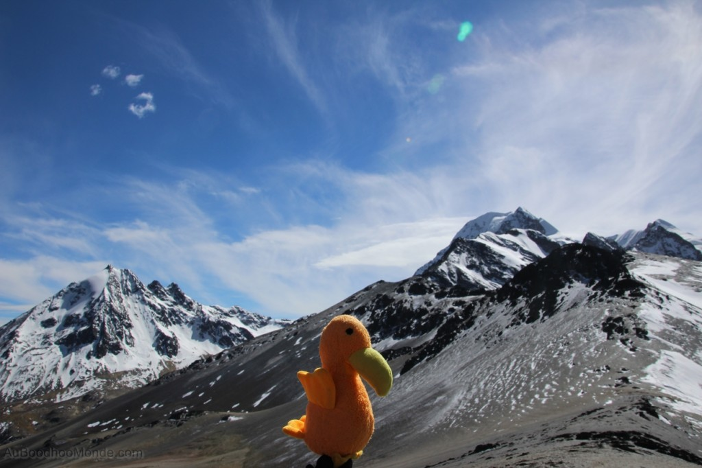 Auboodhoomonde - Dodo Moris - Bolivie Huayna Potosi