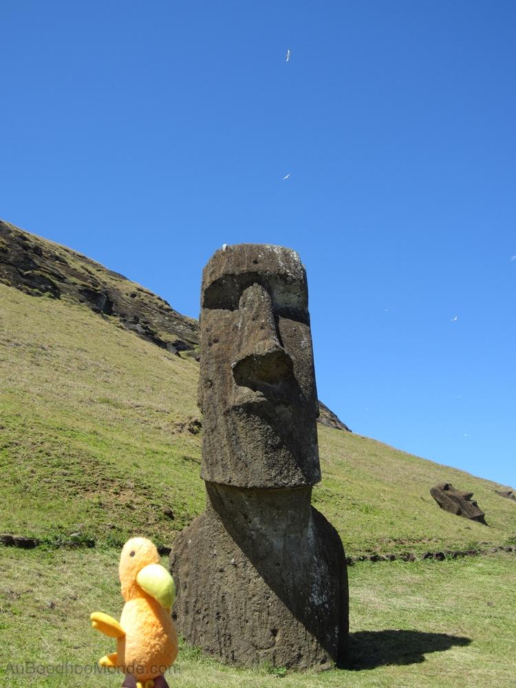 Auboodhoomonde - Dodo Moris - Ile de Paques Moai