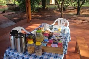 Iguazu - Casa Yaguarete dejeuner