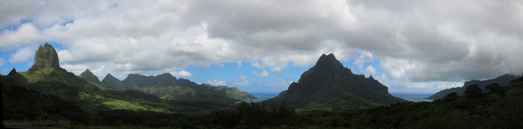 Moorea - Baies Cook et Opunohu