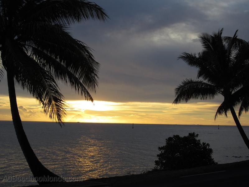 Tahiti - Coucher soleil