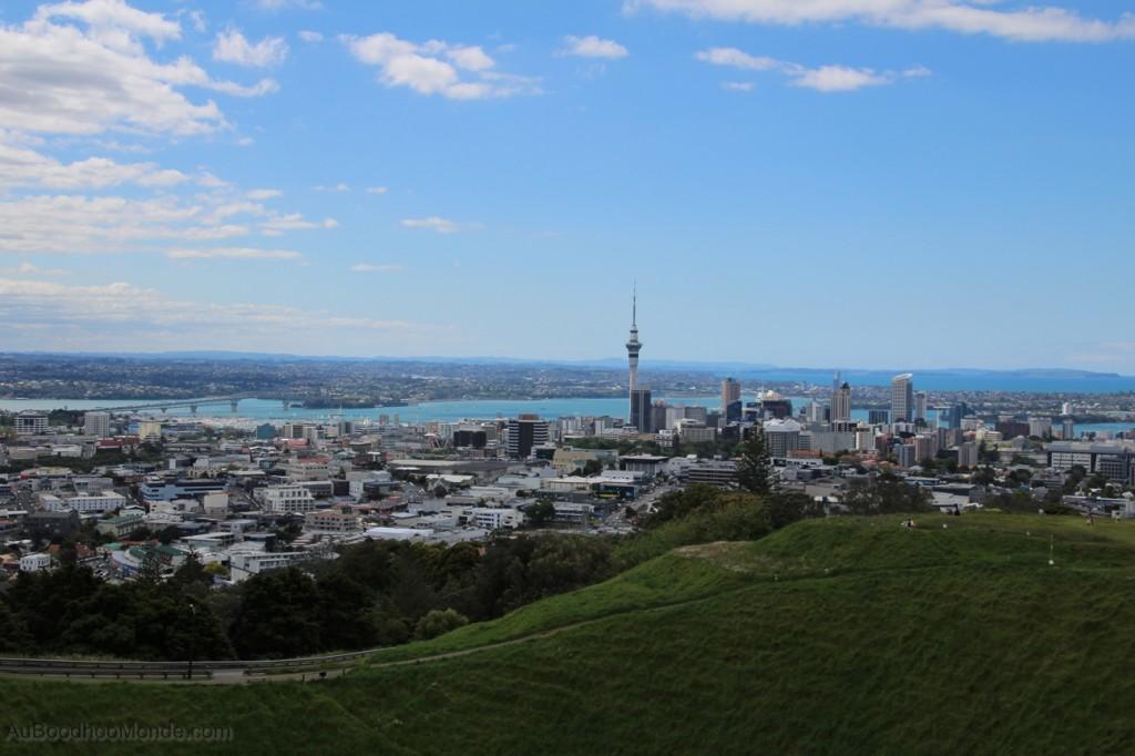 Nouvelle-Zelande - Auckland vue depuis mont Eden