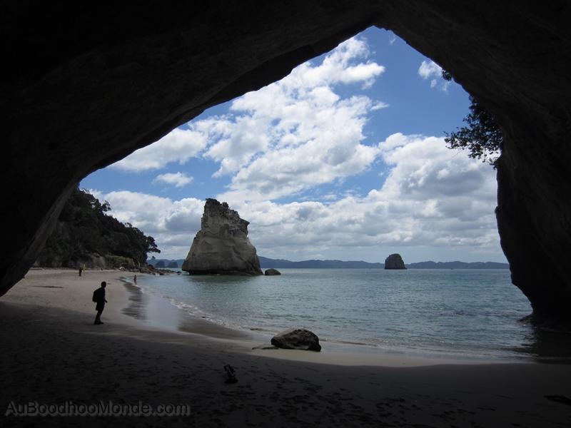 Nouvelle-Zelande - Cathedral Cove