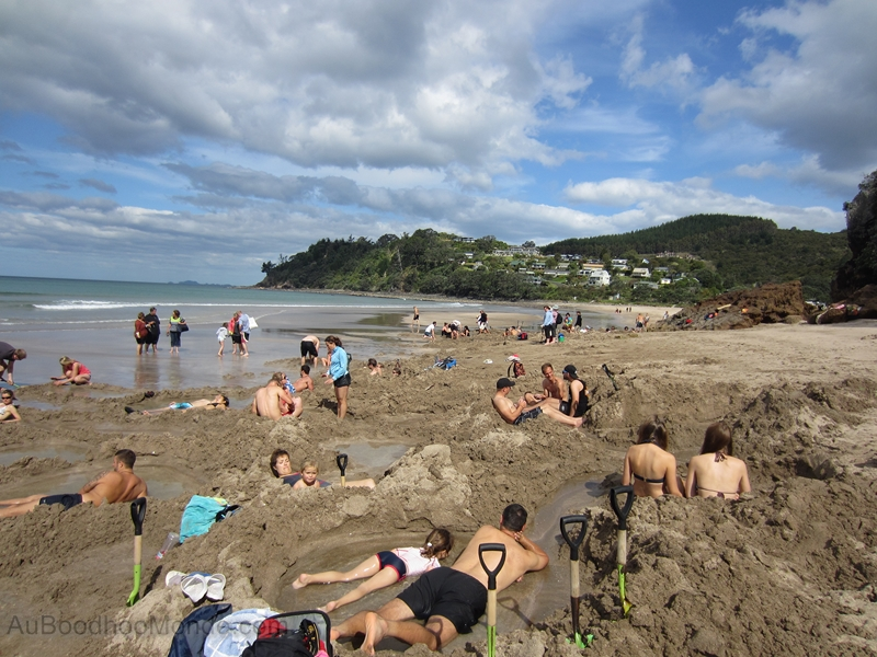 Nouvelle-Zelande - Hot Water Beach