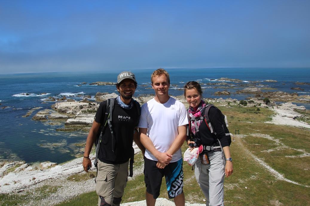 Nouvelle-Zelande - Kaikoura with Gabou