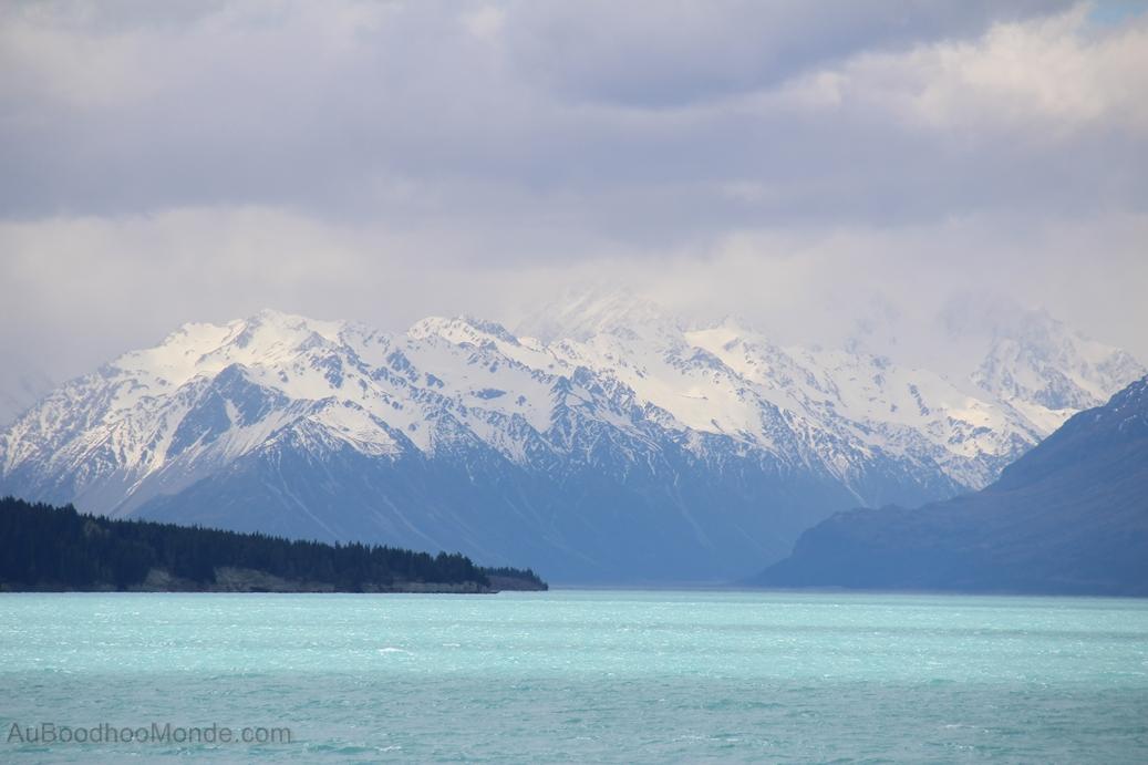 Nouvelle-Zelande - Lac Pukaki et Mont Cook