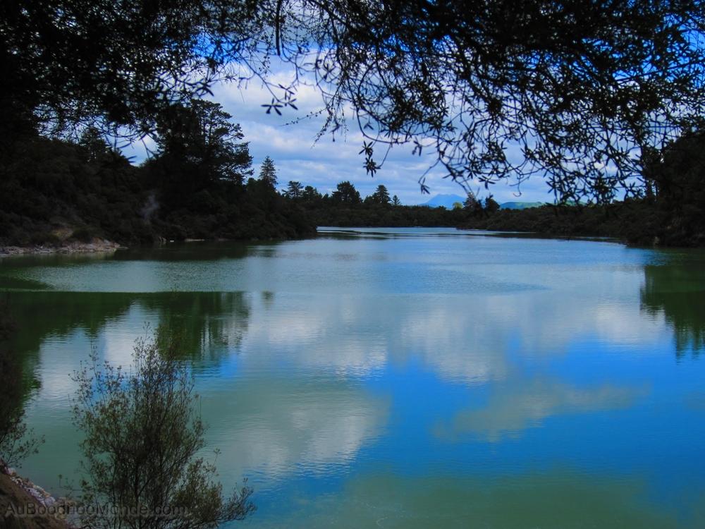 Nouvelle-Zelande - Lac Wai-O-Tapu