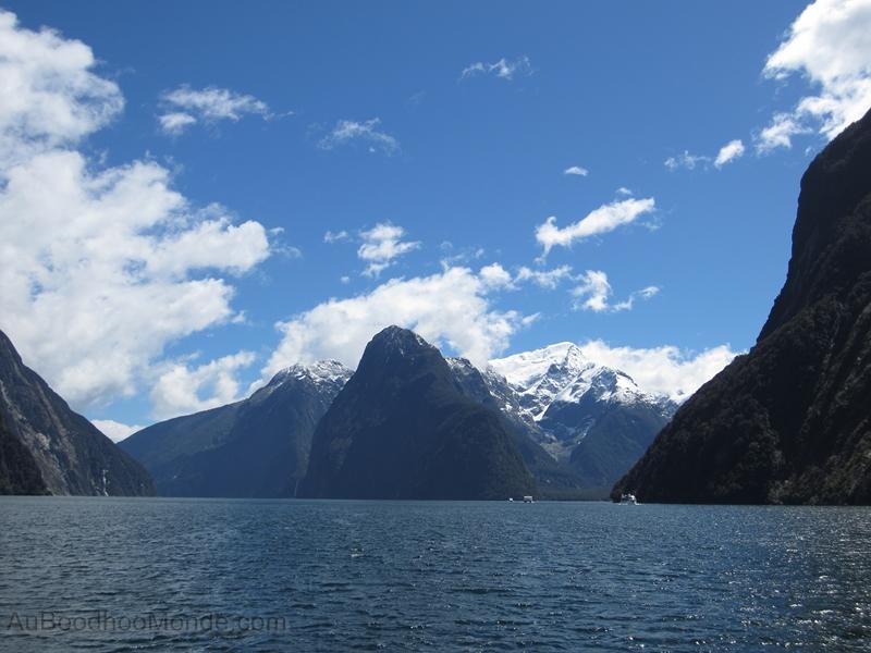 Nouvelle-Zelande - Milford sound - Fjords