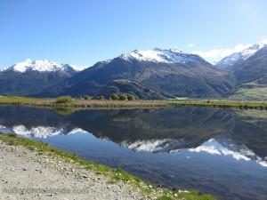 Nouvelle-Zelande - Montagnes et lac